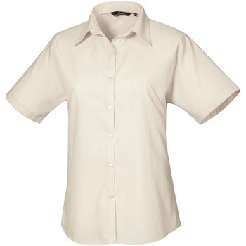 Abbigliamento Donna Camicie Premier PR302 Naturale