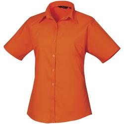 Abbigliamento Donna Camicie Premier PR302 Arancio