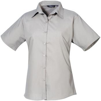 Abbigliamento Donna Camicie Premier PR302 Argento