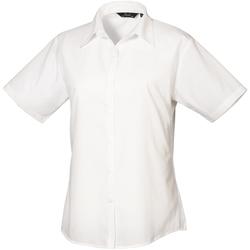 Abbigliamento Donna Camicie Premier PR302 Bianco