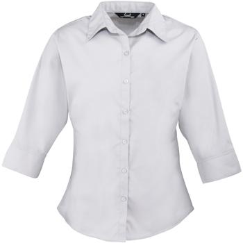 Abbigliamento Donna Camicie Premier Poplin Argento