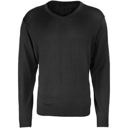 Abbigliamento Uomo Maglioni Premier PR694 Nero