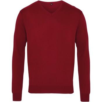 Abbigliamento Uomo Maglioni Premier PR694 Bordeaux