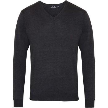 Abbigliamento Uomo Maglioni Premier PR694 Carbone