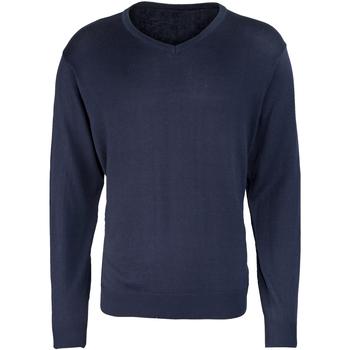 Abbigliamento Uomo Maglioni Premier PR694 Blu navy