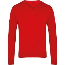 Abbigliamento Uomo Maglioni Premier PR694 Rosso