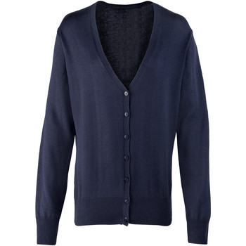 Abbigliamento Donna Gilet / Cardigan Premier Button Through Blu navy