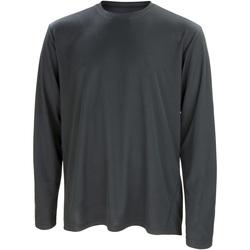 Abbigliamento Uomo T-shirts a maniche lunghe Spiro S254M Nero