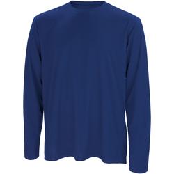 Abbigliamento Uomo T-shirts a maniche lunghe Spiro S254M Blu navy