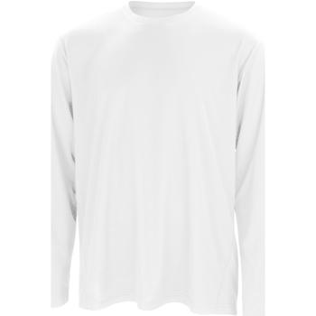 Abbigliamento Uomo T-shirts a maniche lunghe Spiro S254M Bianco