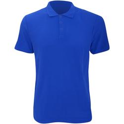 Abbigliamento Uomo Polo maniche corte Anvil 6280 Blu reale