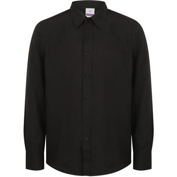 Abbigliamento Uomo Camicie maniche lunghe Henbury HB590 Nero