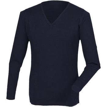 Abbigliamento Uomo Maglioni Henbury HB760 Blu navy