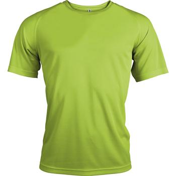 Abbigliamento Uomo T-shirt maniche corte Kariban Proact PA438 Verde lime