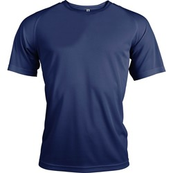Abbigliamento Uomo T-shirt maniche corte Kariban Proact PA438 Blu navy