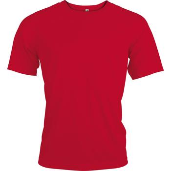 Abbigliamento Uomo T-shirt maniche corte Kariban Proact PA438 Rosso