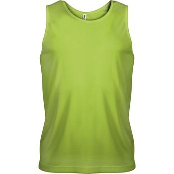 Abbigliamento Uomo Top / T-shirt senza maniche Kariban Proact PA441 Verde lime