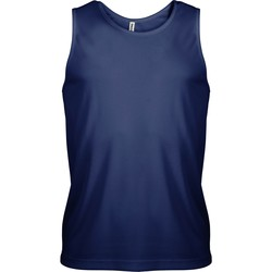 Abbigliamento Uomo Top / T-shirt senza maniche Kariban Proact PA441 Blu navy