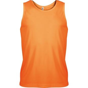 Abbigliamento Uomo Top / T-shirt senza maniche Kariban Proact PA441 Arancio