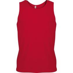 Abbigliamento Uomo Top / T-shirt senza maniche Kariban Proact PA441 Rosso