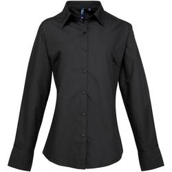 Abbigliamento Donna Camicie Premier PR307 Nero