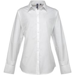 Abbigliamento Donna Camicie Premier PR307 Bianco
