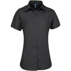 Abbigliamento Donna Camicie Premier PR309 Nero