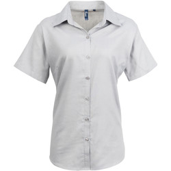 Abbigliamento Donna Camicie Premier PR336 Argento