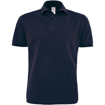 Abbigliamento Uomo Polo maniche corte B And C PU422 Blu navy