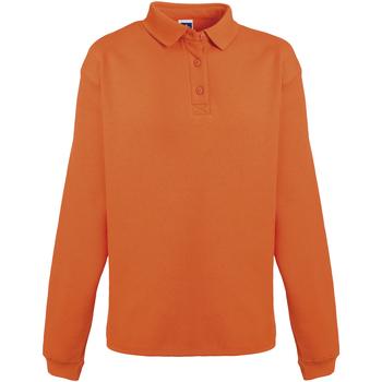Abbigliamento Uomo Felpe Russell Heavy Duty Arancio