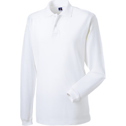 Abbigliamento Uomo Polo maniche lunghe Russell 569M Bianco