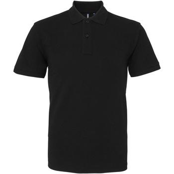 Abbigliamento Uomo Polo maniche corte Asquith & Fox AQ010 Nero