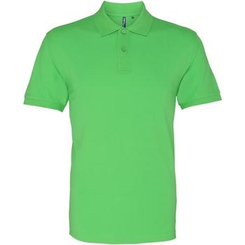 Abbigliamento Uomo Polo maniche corte Asquith & Fox AQ010 Verde lime