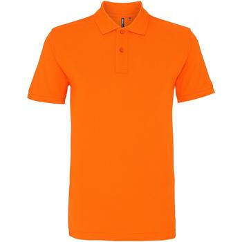 Abbigliamento Uomo Polo maniche corte Asquith & Fox AQ010 Arancio