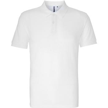 Abbigliamento Uomo Polo maniche corte Asquith & Fox AQ010 Bianco