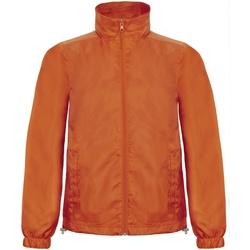 Abbigliamento Uomo giacca a vento B And C ID.601 Arancio