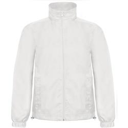 Abbigliamento Uomo giacca a vento B And C ID.601 Bianco