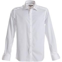 Abbigliamento Uomo Camicie maniche lunghe J Harvest & Frost JF001 Bianco