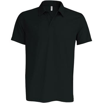 Abbigliamento Uomo Polo maniche corte Kariban Proact PA482 Nero