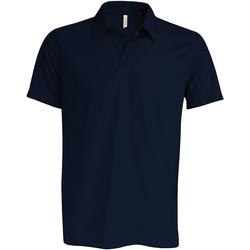 Abbigliamento Uomo Polo maniche corte Kariban Proact PA482 Blu navy