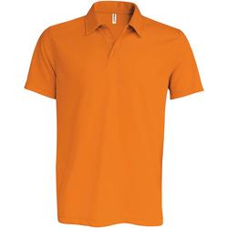 Abbigliamento Uomo Polo maniche corte Kariban Proact PA482 Arancio