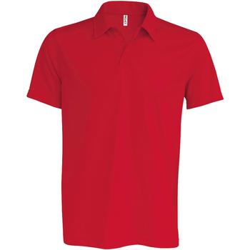 Abbigliamento Uomo Polo maniche corte Kariban Proact PA482 Rosso