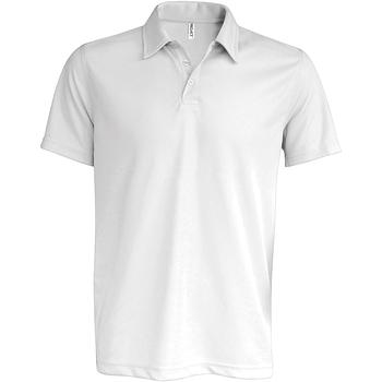 Abbigliamento Uomo Polo maniche corte Kariban Proact PA482 Bianco