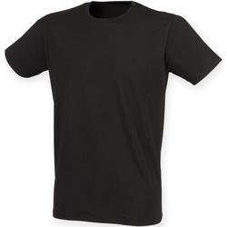 Abbigliamento Uomo T-shirt maniche corte Skinni Fit SF121 Nero