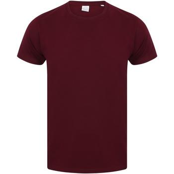 Abbigliamento Uomo T-shirt maniche corte Skinni Fit SF121 Bordeaux