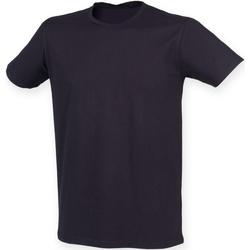 Abbigliamento Uomo T-shirt maniche corte Skinni Fit SF121 Blu navy