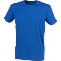 Abbigliamento Uomo T-shirt maniche corte Skinni Fit SF121 Blu reale