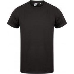 Abbigliamento Uomo T-shirt maniche corte Skinni Fit SF122 Nero