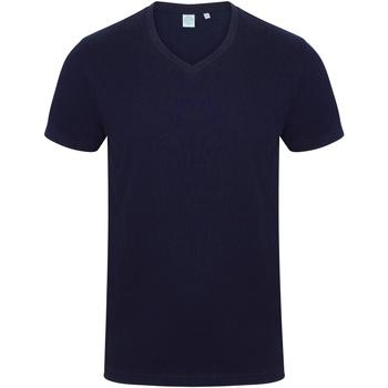Abbigliamento Uomo T-shirt maniche corte Skinni Fit SF122 Blu navy