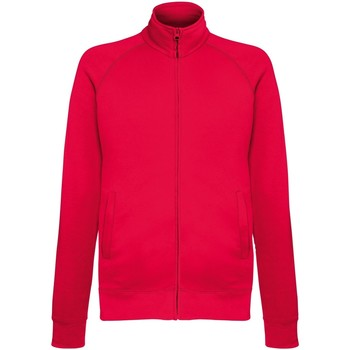 Abbigliamento Uomo Giacche sportive Fruit Of The Loom SS928 Rosso